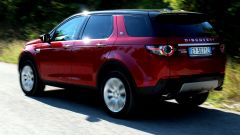 Land Rover Discovery Sport, vista posteriore