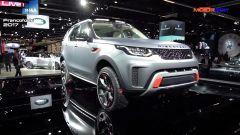 Land Rover Discovery SVX mostra i muscoli al Salone di Francoforte 2017