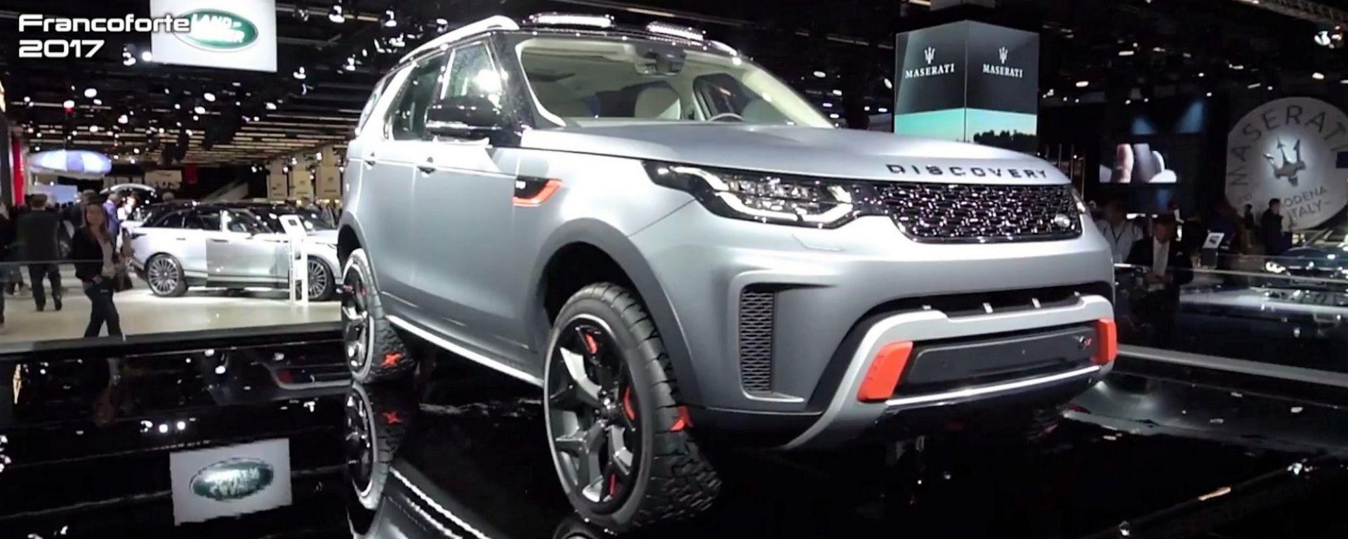Land Rover Discovery SVX: un tank col V8 per essere inarrestabili