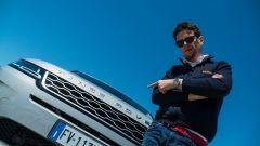 Land Rover Evoque con Andrea Brambilla