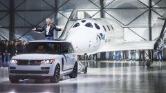 Land Rover ha una collaborazione con Virgin Galactic di Richard Branson
