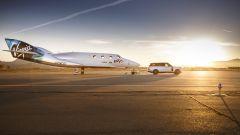 Land Rover ha una collaborazione con Virgin Galactic
