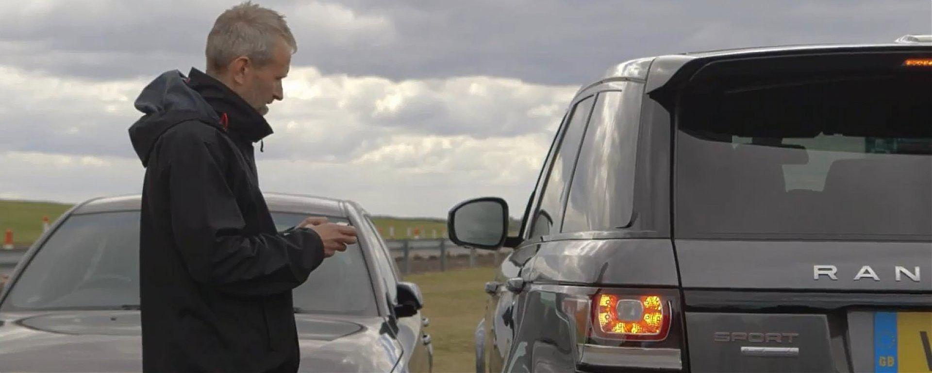 Land Rover: si guiderà con lo smartphone?