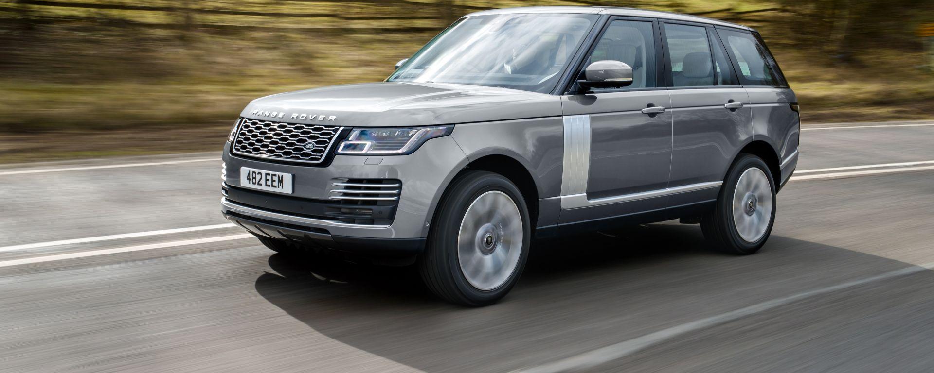 Land Rover Range Rover: vista 3/4 anteriore