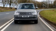 Land Rover Range Rover: vista frontale