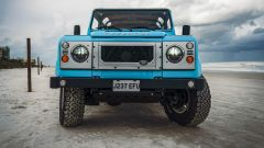 Land Rover Reef D90: vista: il frontale