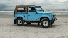 Land Rover Reef D90: vista laterale