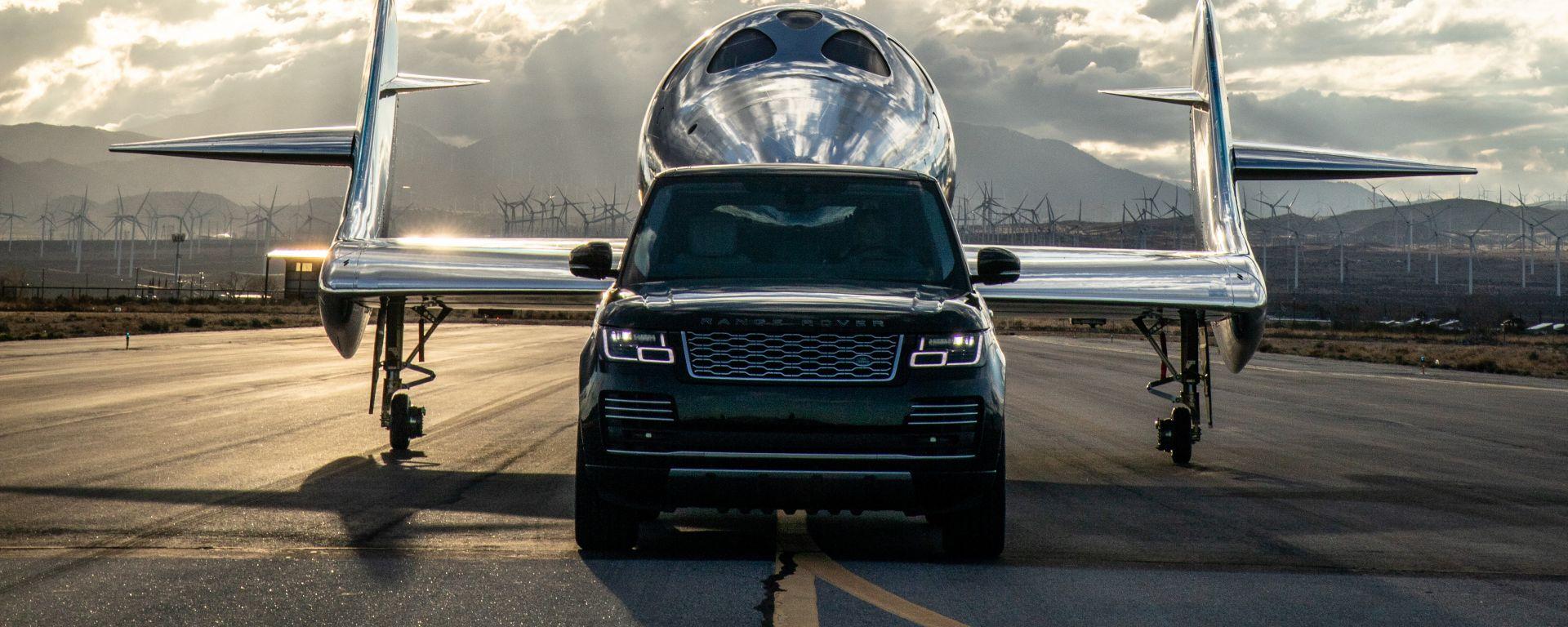 Land Rover al fianco di Virgin Galactic per i voli spaziali commerciali