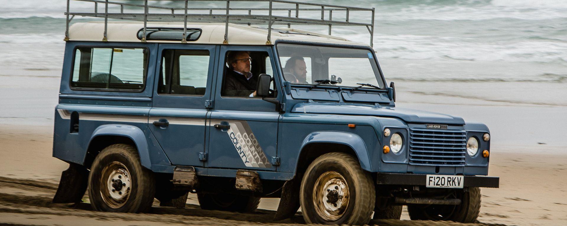 Land Rover: sull'isola dove tutto cominciò