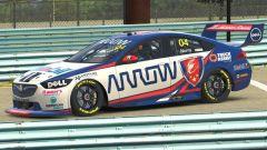 Lando Norris in pista a Spa-Francorchamps per la V8 Supercars All-Stars eSeries su iRacing