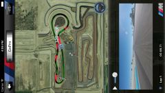 L'app M Laptimer aggiornata ti mostrerà il video della GoPro sincronizzato con la posizione sulla pista