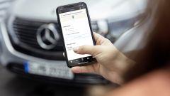 L'applicazione smartphone Mercedes me Charge