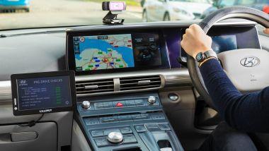 L'attrezzatura utilizzata da Hyundai per rilevare i diversi stili di guida