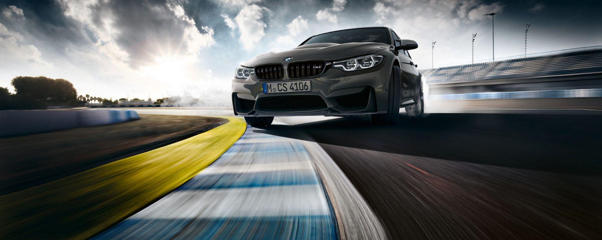 L'attuale BMW M3 CS