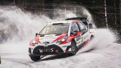 Latvala a bordo della Toyota Yaris WRC Plus 2017 - WRC 2017