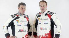 Latvala e il suo co pilota - WRC 2017