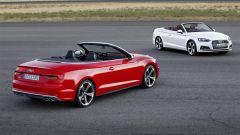 L'Audi A5 Cabriolet  completa la nuova generazione della famiglia A5