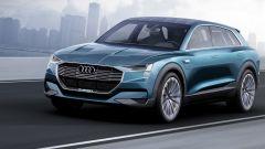 L'Audi E-Tron Quattro sarà il primo SUV elettrico della casa