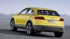 L'Audi Q4 si rifà allo stile mostrato dalla concept Audi TT Offroad