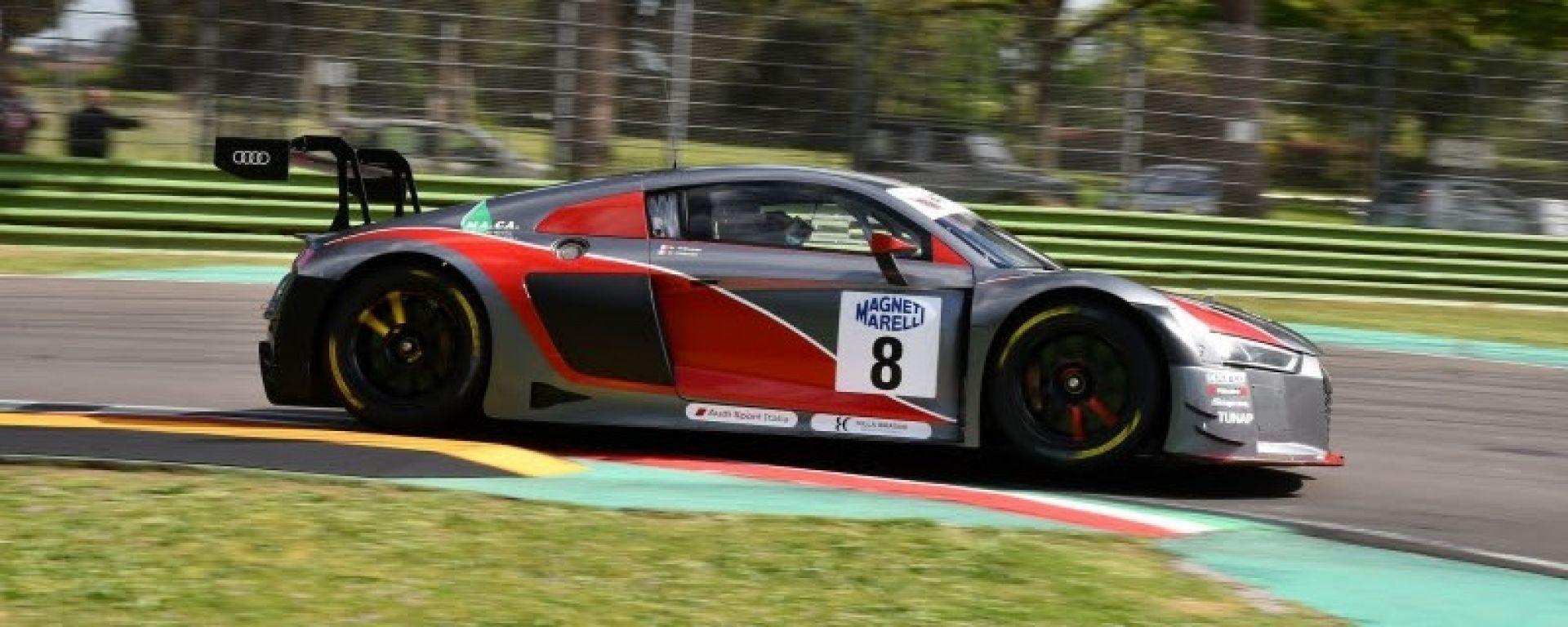 L'Audi R8 LMS all'assalto nella prossima tappa del Campionato GT Italiano 2017