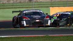 L'Audi R8 LMS del team ufficiale Audi Sport Italia
