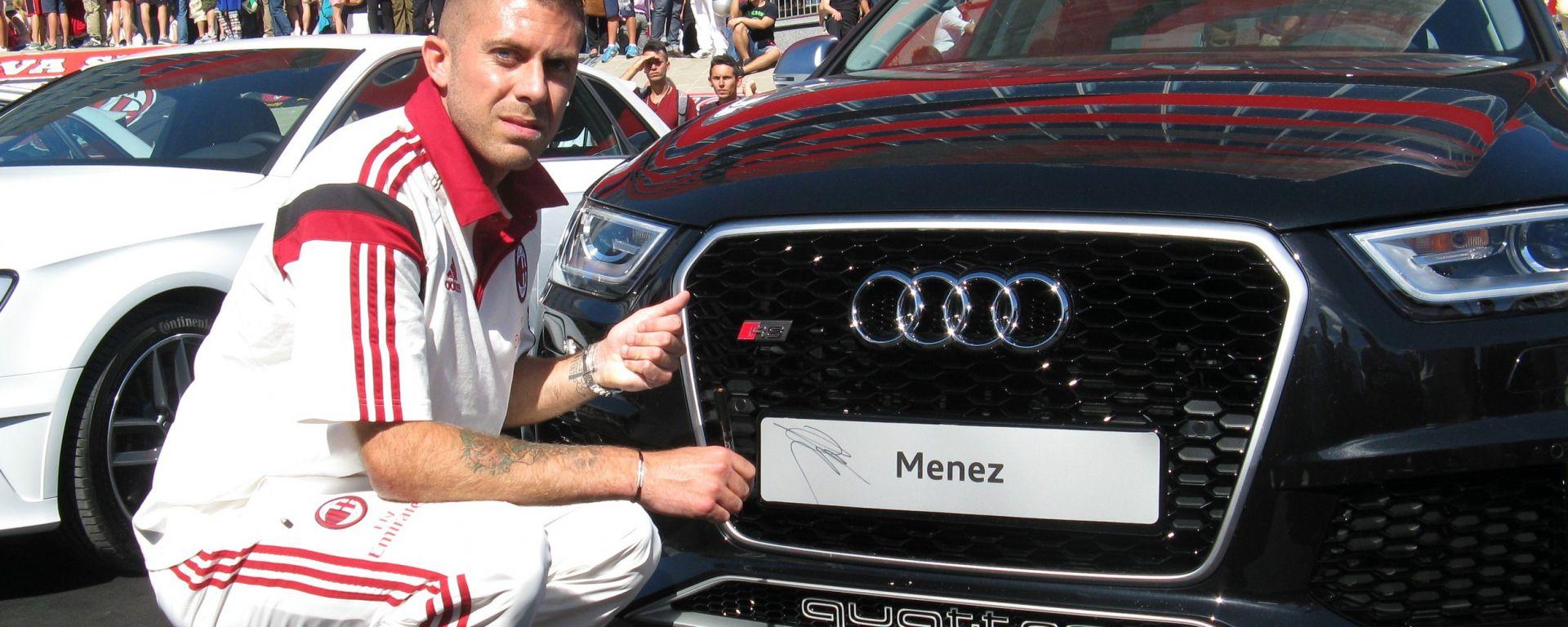 Audi protagonista a Casa Milan