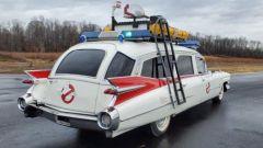 L'auto dei Ghostbuster all'asta, vista di fianco