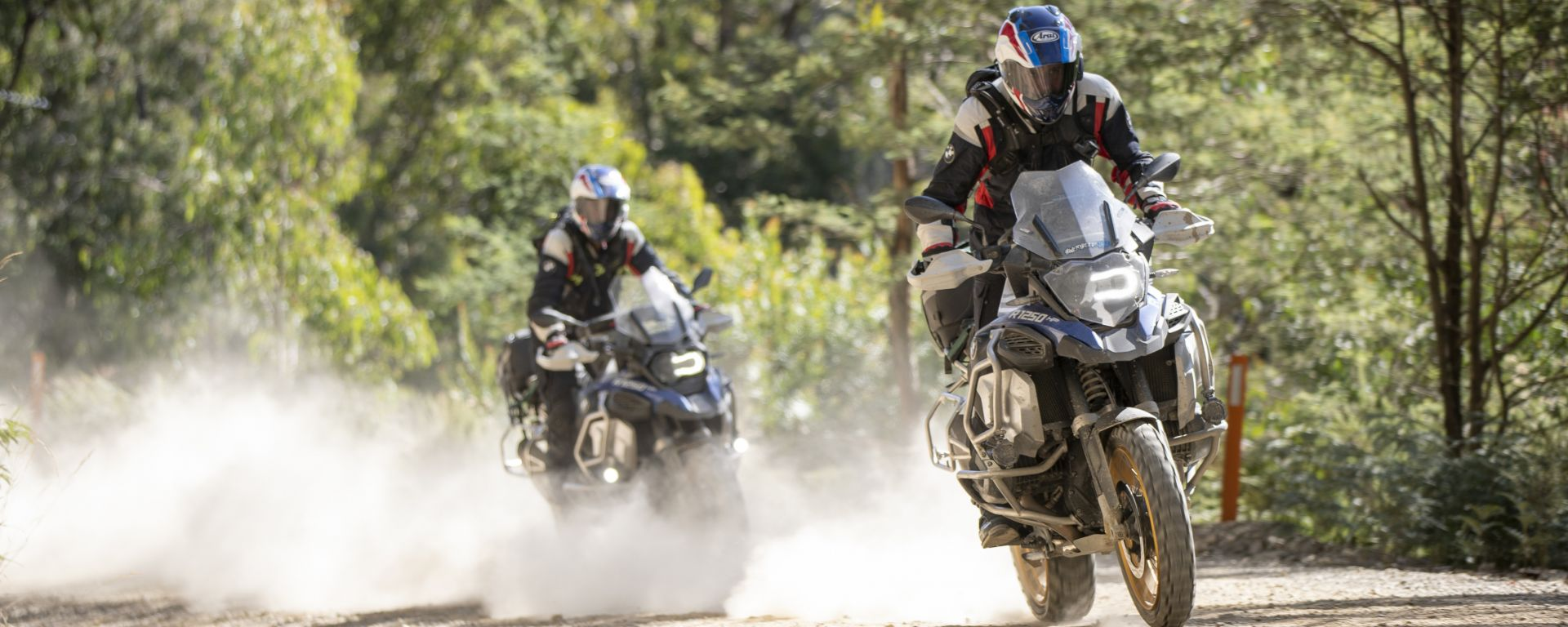 Laverty e Sykes con le BMW R 1250 GS