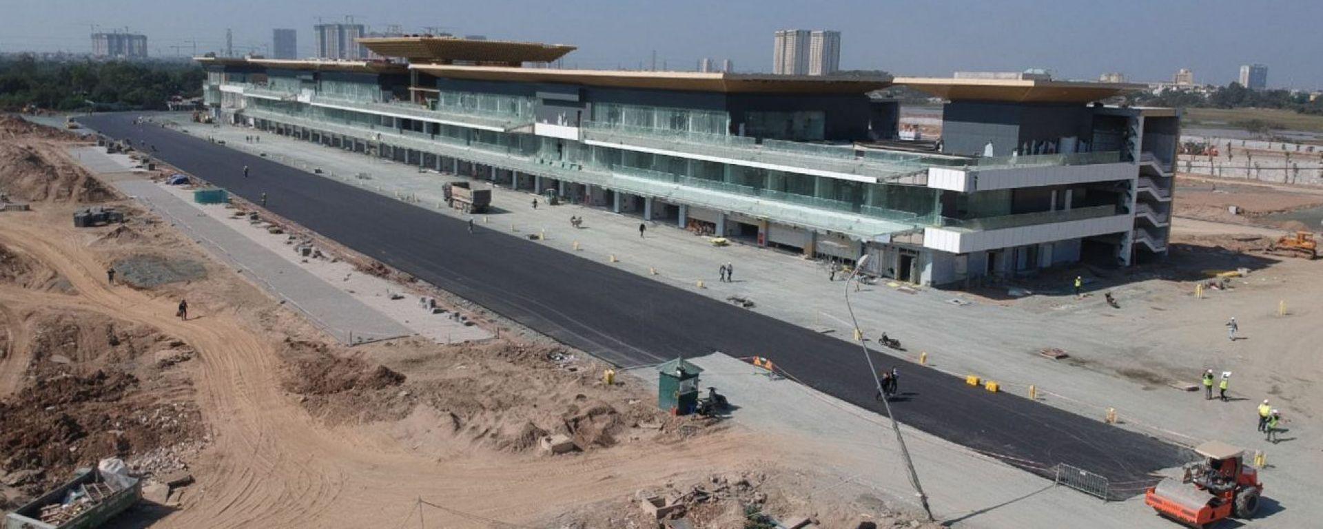 Lavori in corso ad Hanoi per il circuito cittadino che ospiterà il GP del Vietnam