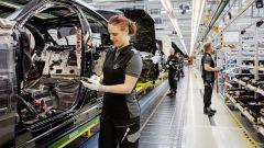 L'avveniristico impianto produttivo Mercedes di Sindelfingen