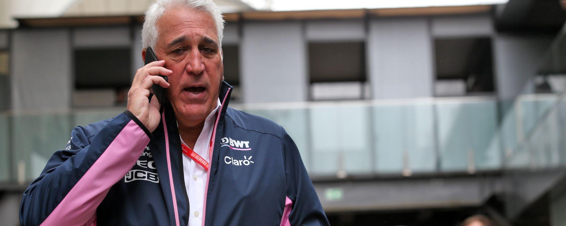 Lawrence Stroll (Racing Point), GP Brasile 2019, Interlagos