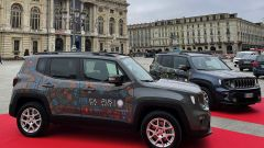 Le 2 Jeep Renegade 4xe che Stellantis ha fornito a Edisu Piemonte