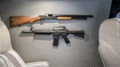 Le armi (finte!) che impreziosiscono il modello
