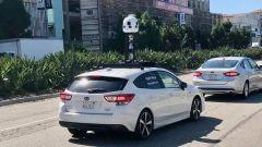 Le auto di Apple Mappe durante i rilievi