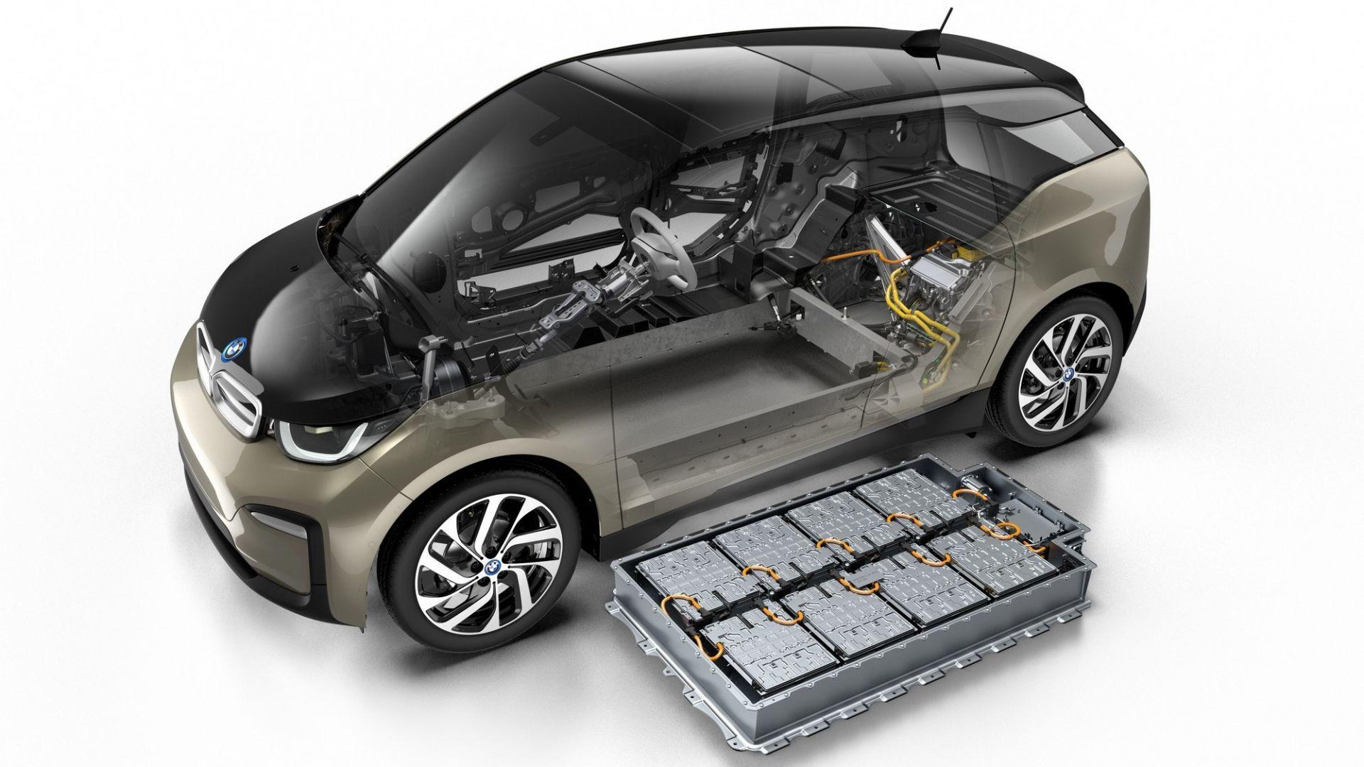 Le batterie di una BMW i3