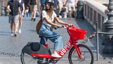 Le bici elettriche Jump di Uber