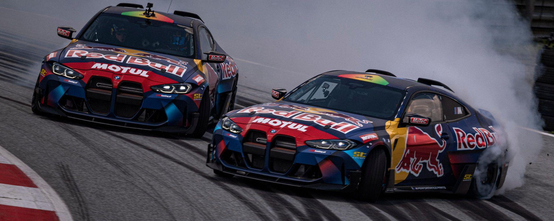 Le BMW M4 Competition preparate per il campionato drifting