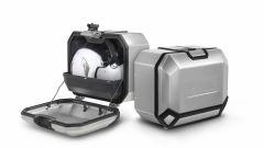Le borse laterali SHAD Terra hanno due possibili capienze: 36 o 47 litri