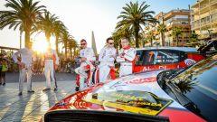 Le Citroen C3 WRC e l'equipaggio Citroen