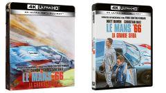 Le cover dei Blu-ray di Le Mans '66 - La grande sfida