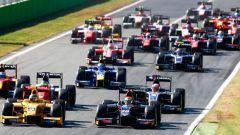Le Dallara GP2/11 in azione a Monza 2017