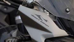 Le decalcomanie della Triumph Tiger 1200 Alpine Edition