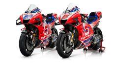 Le Ducati Demosedici GP21 del Pramac Racing di Jorge Martin e Johann Zarco