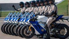 Le Ducati Panigale V4 R della polizia di Abu Dhabi