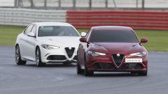 Alfa Romeo Giulia Quadrifoglio a Silverstone fa il record alla cieca
