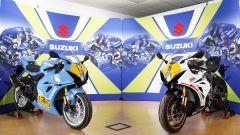 Le due GSX-R 1000R Legend Edition dedicate a Franco Uncini e Marco Lucchinelli