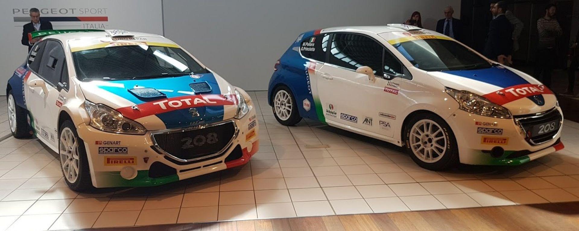 Le due Peugeot del Team Peugeot Sport Italia