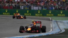Le due Red Bull - GP Germania 2016