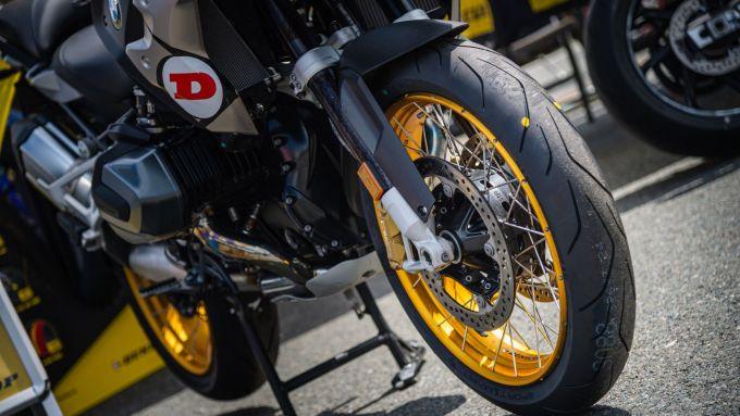 Le Dunlop Sportsmart TT Trail equipaggiate sulla BMW F 850 GS