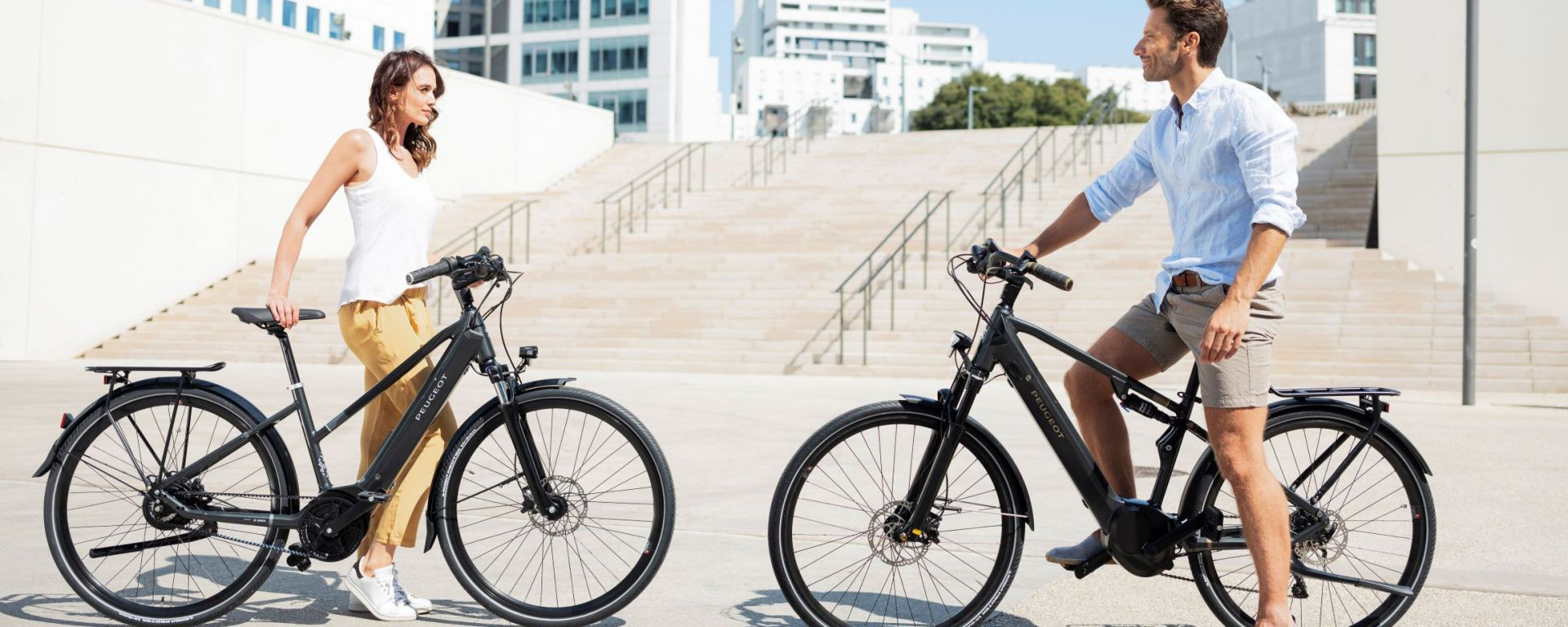 Le e-bike Peugeot eT01 PowerTube